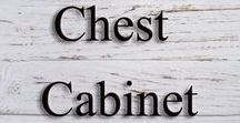 Chest, Cabinet and Small Dressers