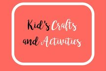 Kid Crafts and Activities / Crafts, activities and play to keep those littles busy!