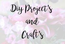 DIY Projects and Crafts / Crafts and DIY projects for the home
