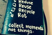 Zero Waste / inspired by an ethical lifestyle, natural products & to produce as little garbage as possible