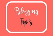 Blogging Tip's / Tips for blogging. Social media tips. Ways to grow blogging traffic.