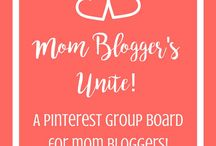 Mom Blogger's Unite! / **This board is not open to contributors at this time.** No limits on pinning.  Only two rules:  1. Follow me and all other collaborators on the board.  2. Don't just pin and run! Please pin from the board as well.