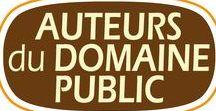 Auteurs français du domaine public / sites.google.com/site/auteursdudomainepublic - Ce site répertorie les auteurs français entrés dans le domaine public et propose des liens pour lire leurs livres électroniques principalement sur Wikisource, Gallica, Gutenberg, eBooksGratuits ou bien encore litteratureaudio pour apprécier l'écrit de vive voix.   Dans la plupart des cas ces liens sont au format html ou pdf afin de vous rendre la lecture la plus accessible, quels que soient les supports ou systèmes d'exploitation utilisés : téléphone, tablette, ordinateur, etc...