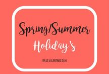 Spring and Summer Holiday's (Plus Valentine's Day) / Valentine's Day, St. Patrick's Day, Easter, Fourth of July. crafts, diy, decor