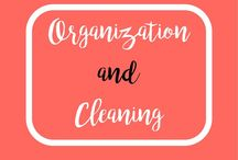 Organization and Cleaning / Tips and hacks for cleaning your home, car, and more. Tips and hacks for organization. Organizing and cleaning the house.