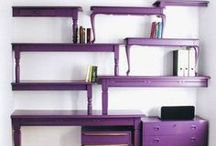 Fab and Funky Furniture  / Furniture Make-overs and ideas of how to re-purpose them. / by Debbie Clark