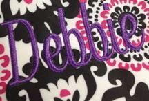 D is for Dazzling Debbie / D is for Debbie, Debra, Debrabee! / by Debbie Clark