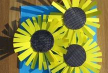 Sizzling Summer / Summer themed teaching ideas, activities, classroom decorations and craft projects.