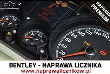Bentley Continental / Flying Spur licznik - naprawa licznika / Zepsuty licznik Bentleya? Awaria podświetlenia, uszkodzone wskaźniki lub całkowicie martwy zegar?