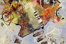 Andrea Bogdan at Cactus Gallery / Andrea Bogdan generously uses color and motion in her paintings to express the unique life spark of the people she meets and the weird, wonderful and conflicted nature of the human condition. She's worked in Detroit, the Bronx, Manhattan, Dallas, Prague, Vienna and Los Angeles and extracts personalities for her peculiar artwork mainly from these places. Contact Sandra at semastroianni70@yahoo.com for purchase info.