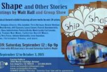 """Ship Shape and Other Stories"" - Original Art by Group Show / Please join us for ""Ship Shape and Other Stories"" as gallery favorite Walt Hall and 26 artists explore a nautical theme for our September exhibit. Reception is September 12th 6p-9p. Contact Sandra at semastroianni70@yahoo.com for additional photos/purchase info. We accept all forms of payment and the gallery is open to installment plans to help you grow your collection.  / by Cactus Gallery"