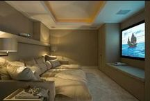 VIP Media Room Projects / Media Room Projects for VIP Home Theatres, Club and Hotel Lounge, Club, Lobby and Bar