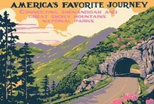 Vintage Art of the Parkway / Vintage prints, postcards, & publicity posters of the Blue Ridge Parkway, Great Smoky National Park, Shenandoah National Park, and more!