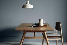 • a table •
