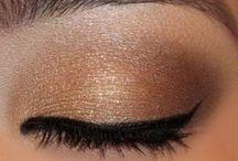 UD Naked palette makeup