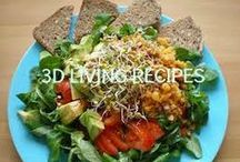 3D Living Recipes / Here are some of my favorite recipes for living a 3D Life of health and wholeness! http://www.threedimensionalvitality.com/healthy_recipes.html