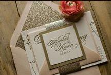 Wedding stationary inspiration