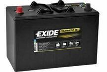Exide Gel / Baterías de Gel Marca Exide