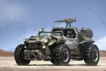Armored Military & Off-Road Vehicles / by Kriss P