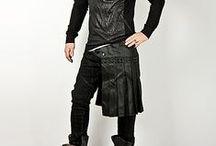 Mildly butch clothes