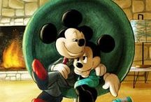 Mickey and Minnie / by T M