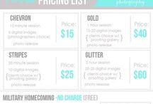 Cookies Pricing List / Menus