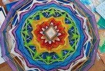 Мои Mandala ojo de dios