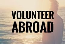 Volunteer Abroad! / It's our world // It's time we started giving back.  Volunteering opportunities around the globe.