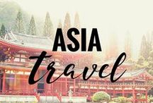 ASIA Travel / Tips, tricks, inspiration, and destinations for traveling in Asia!
