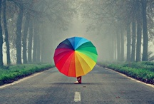 """A splash of colour / """"The purest and most thoughtful minds are those which love color the most. """" ― John Ruskin"""