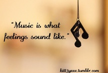 Music <3 / One good thing about music, when it hits you, you feel no pain.  --Bob Marley