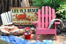 Beach Home Inspiration / Ideas and objects that I want for my coastal home if that is where I should happen to end up. / by Kat Trubey
