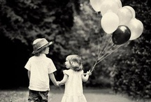 """Balloons / """"I think the balloons should hang from the ceiling and drop down.""""--Jennifer Freeman"""