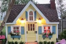 Little Homes  / Smaller homes and ideas. Ways to live big in smaller spaces. / by Kat Trubey