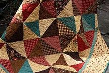 Quilts ~ Quilting Ideas / patterns, ideas, color combinations, how-to-do-this ideas. May include applique and embroidery patterns I want to use for various quilts.  / by Kat Trubey