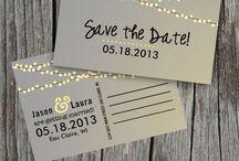 Invitation & cards / by Angela Oudshoorn