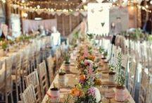 WEDDING INSPIRATION / Wedding ideas.