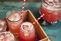 A refreshing beverage