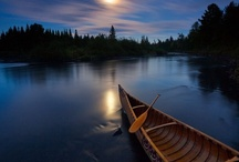 Life on the River / its about the solitude and peace of mind one finds when gliding through the tranquil waters / by jules mcnubbin
