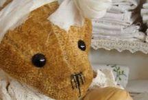 My own handmade teddy-bears.