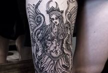 Tattoos / Tattoo designs that I love for inspiration and admiration. Mostly with natural themes.