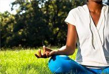 "Namaste / ""Health is wealth. Peace of mind is happiness. Yoga shows the way.""  - Swami Vishnu-Devananda / by FootSmart"