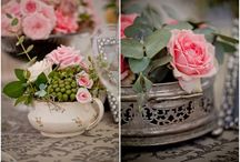 Wedding flowers, decor and detail