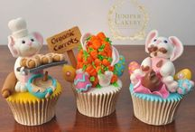 Cakes - fondant figurines and decorations