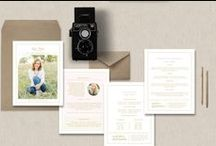Senior Photographer Templates / Marketing and branding materials for professional photographers. Business cards, pricing guides, trifold price list, senior rep cards. Thank you cards, gift cards, and Facebook timeline templates. Senior Photography graduation announcements.  #senior #photography #templates #design