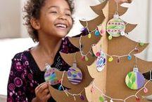 Children Christmas / gyerekekkel  készíthető karácsonyi tárgyak
