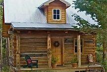 Cozy Cabins / by Nancy Smith