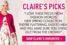Claire Richards SS14 Collection / Check out the gorgeous Spring/Summer collection from Claire Richards www.fashionworld.co.uk/clairerichards