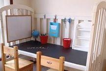 Børneværelset / Inspiration og ideer til flotte, sjove og praktiske ting til indretning af børneværelset.