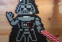 Zukünftige Projekte / Darth Vader in Bügelperlen